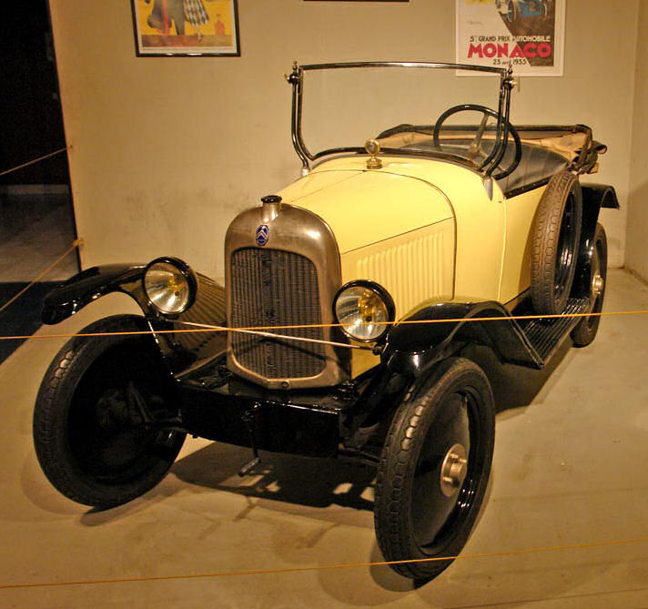 jaune avg 1922 Citroen Type C