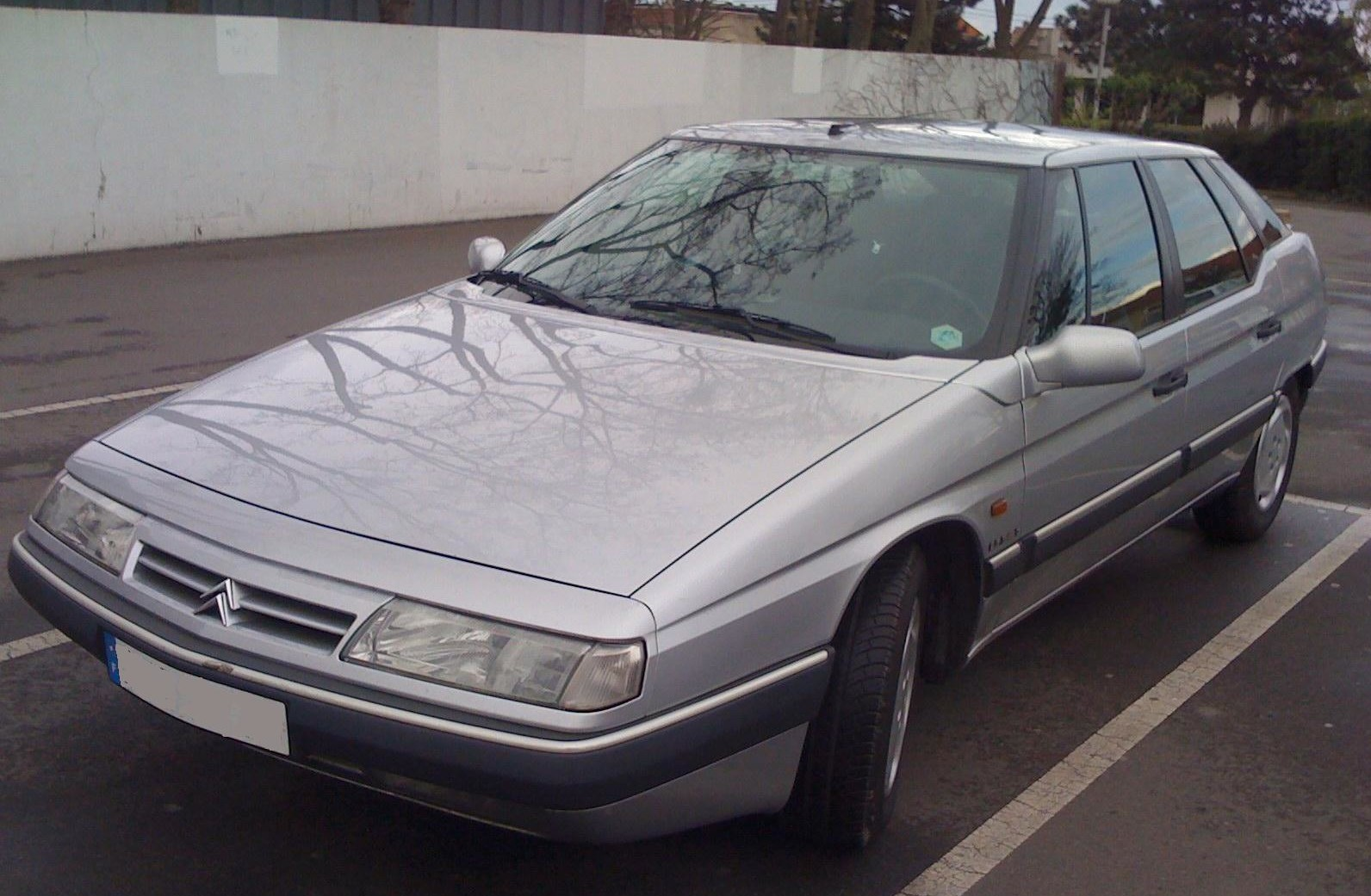 grise avg CITROEN-XM-Gris clair-Berline-17158
